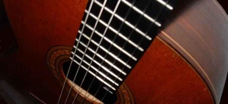 Ausschnitt Konzertgitarre