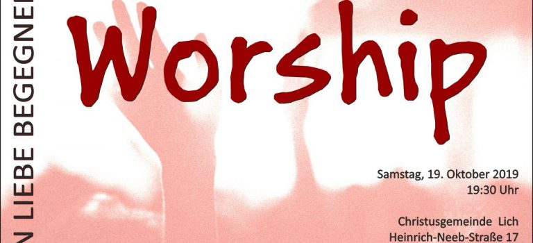 Worshipabend Lich