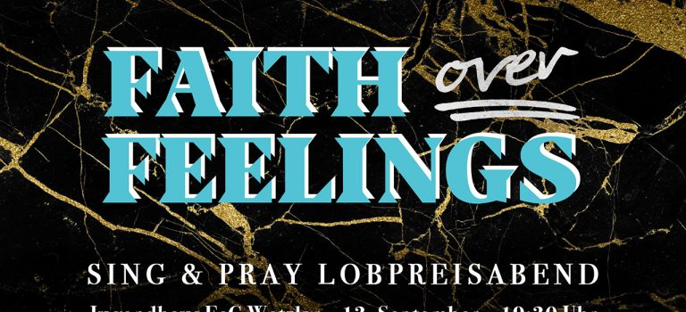 Sing & Pray Lobpreisabend